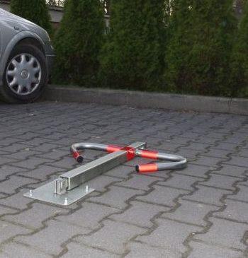 Ręcznie składana blokada parkingowa - Mewa