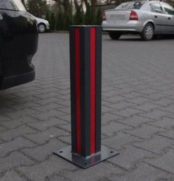 Blokada parkingowa - słupek