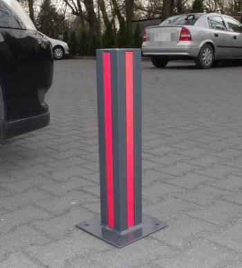 Stały słupek parkingowy 4k