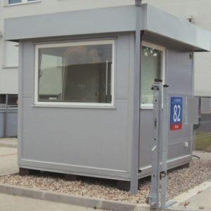 Stróżówka - zabezpieczenie wjazdu   parkingplus.pl