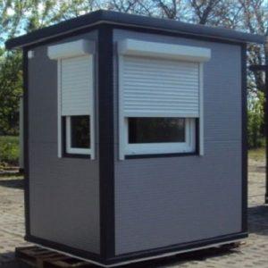 Stróżówka - wariant 1   parkingplus.pl   wypożyczalnia budek parkingowych