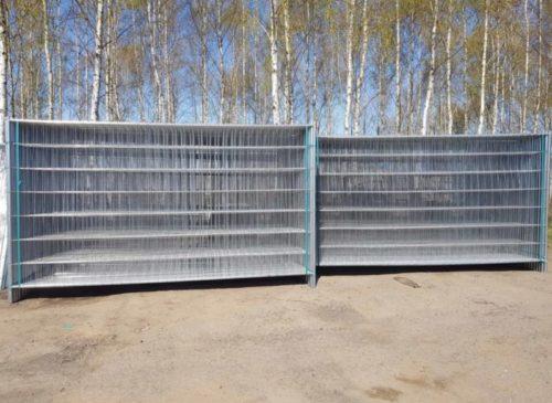 Ogrodzenia tymczasowe, budowlane