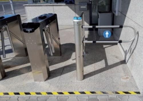 Kontrola przejścia, tripody, bramki | parkingplus