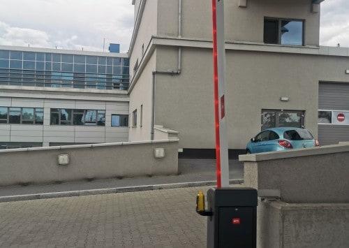 Szlaban BFT Giotto – Szpital Uniwersytecki w Krakowie